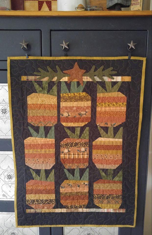 Cheri Payne Pineapple Pattern, by Mary Ann Caba | cheri quilts ...