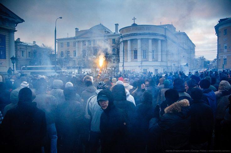 WHITE Technologies 2033: Беспорядки на Манежной площади в 2002 и в 2010
