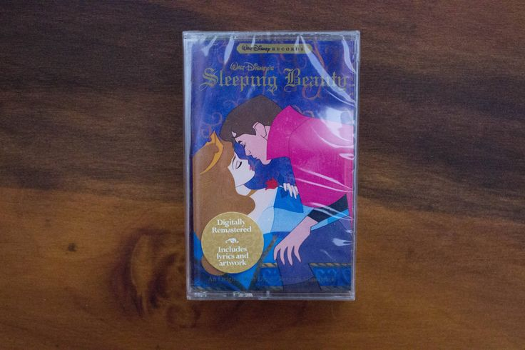 Sealed Disney's Sleeping Beauty Original Soundtrack 1996 Cassette Tape- Digitally Remastered- Includes Lyrics & Artwork by JenuineCollection on Etsy