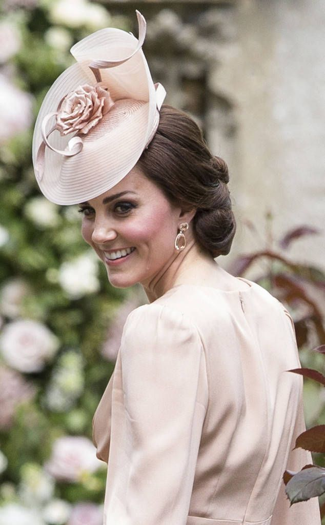 Kate Middleton from Pippa Middleton & James Matthews' Wedding Pippa's sister looks lovely in pink.