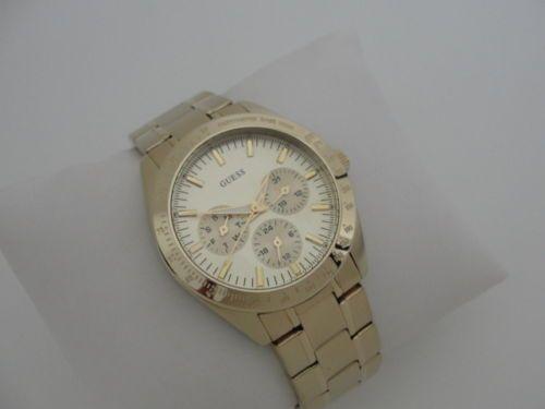 GUESS-Damen-Uhr-LADY-CHASE-GOLD-CHRONOGRAPH U12004L2
