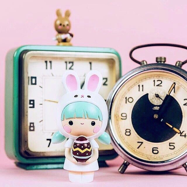 Pascale & Pablo by Momiji Limited Edition Momiji doll for Easter 2017 designed by Helena Stamulak. Momiji are message dolls. Inside each one there's a tiny folded card for your own handwritten message, dream or wish. Perfect kawaii gifts for your favourite people at Easter!