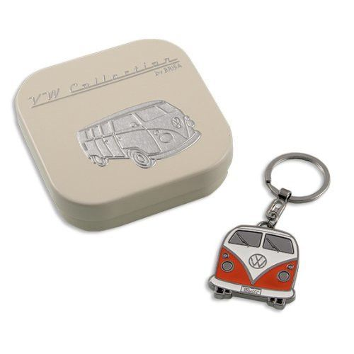 Orange VW Bus Key Ring!  Introducing the New VW Collections at www.coolvwstuff.com Hundreds of Officially Licensed Volkswagen Products and Ships Globally!