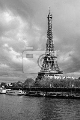 Fototapeta Eiffelova věž v Paříži, Francie