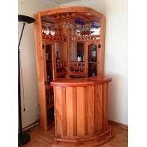 Las 25 mejores ideas sobre cantinas de madera en for Bar madera esquinero