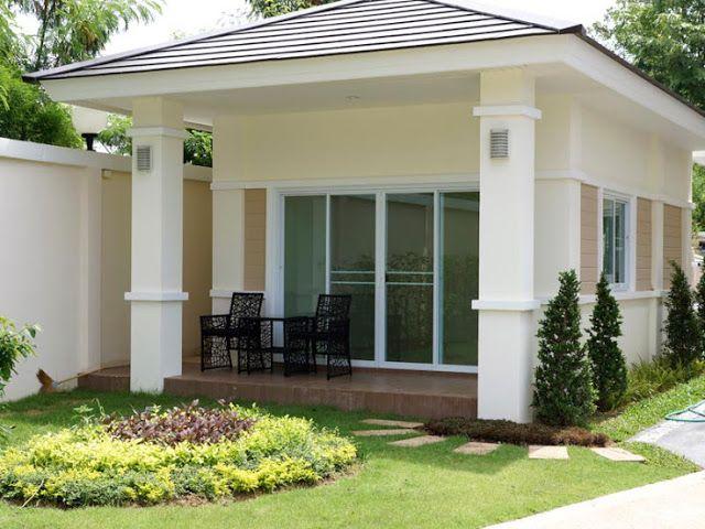 mẫu nhà cấp 4 đẹp và hiện đại http://www.xaydungtoanthanh.com/2015/08/xay-nha-cap-4.html