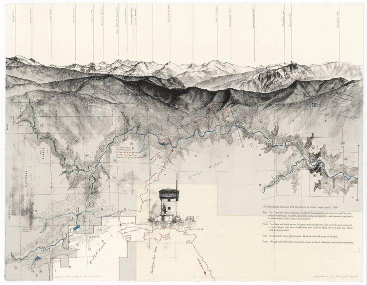 Due East Over Shadequarter Mountain, by Matthew Rangel.