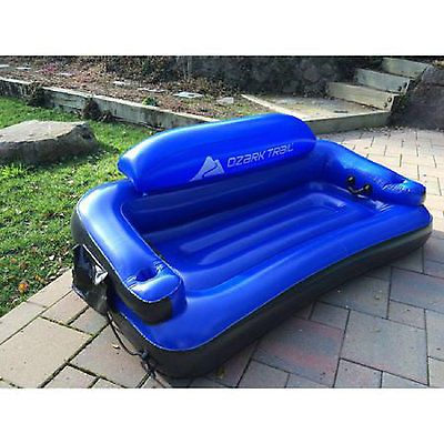 Inflatable Pool Chair Large Float Couch Water Lake Lounge Sofa Bed Lounger