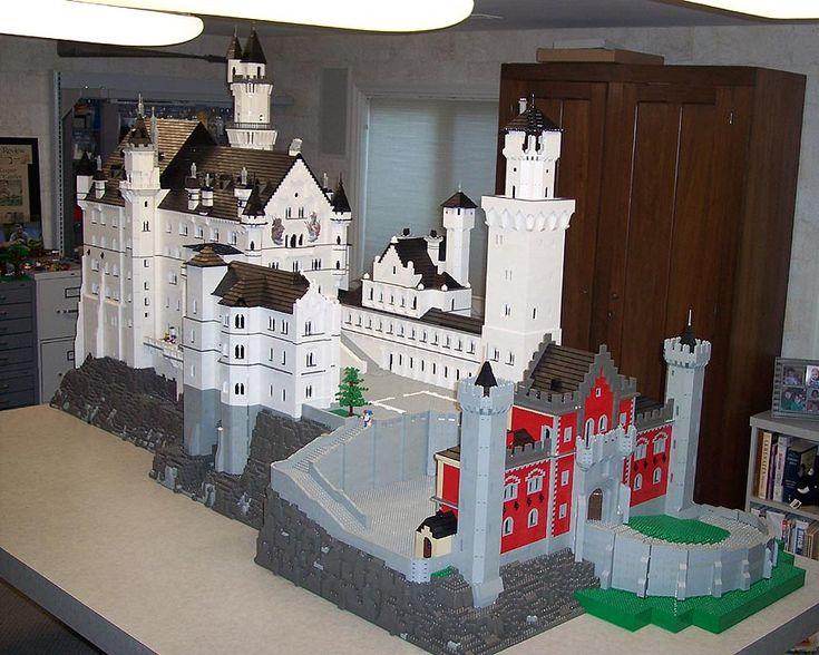 Geek Art Gallery: Lego Creations: Lego Neuschwanstein