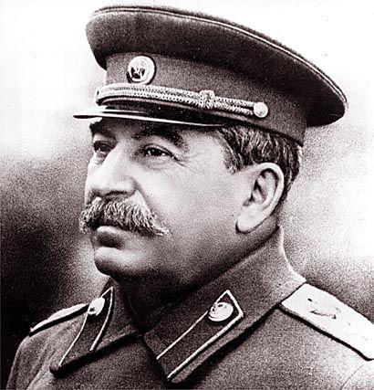 zo zag Jozef Stalin eruit in de periode van de koude oorlog. hij was een belangrijke man in de koude oorlog
