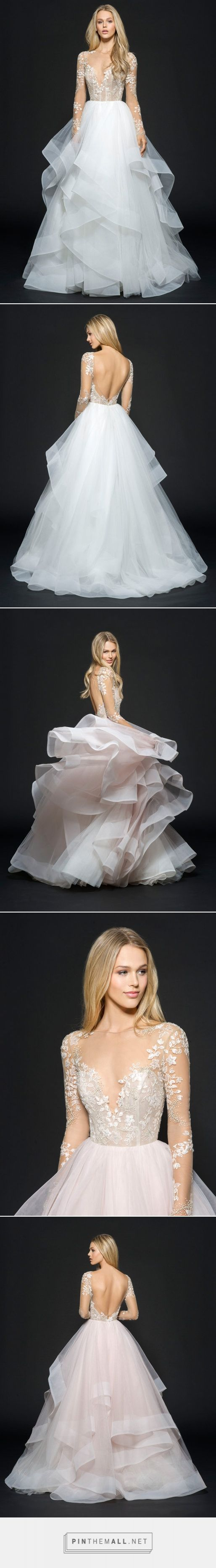 Bridal Gowns and Wedding Dresses by JLM Couture - Style 6654 Lorelei Hayley Paige Fall 2016 - created via https://pinthemall.net