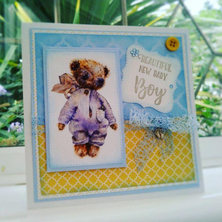 Making Cards Magazine Part - 35: Baby Card Free Gift Making Cards Magazine