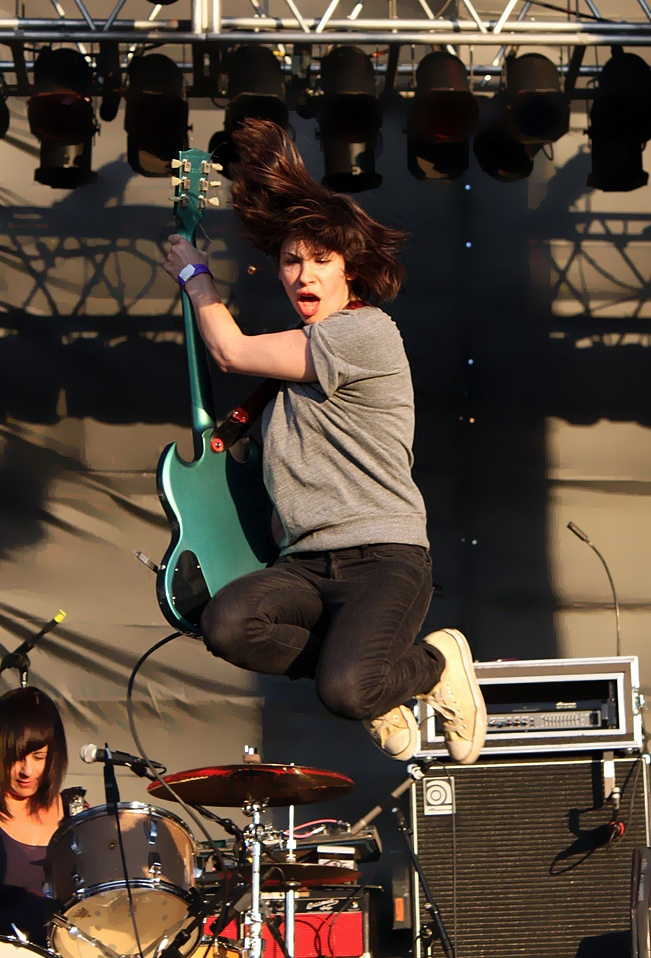 Carrie Brownstein - she's kind of badass, no? :)