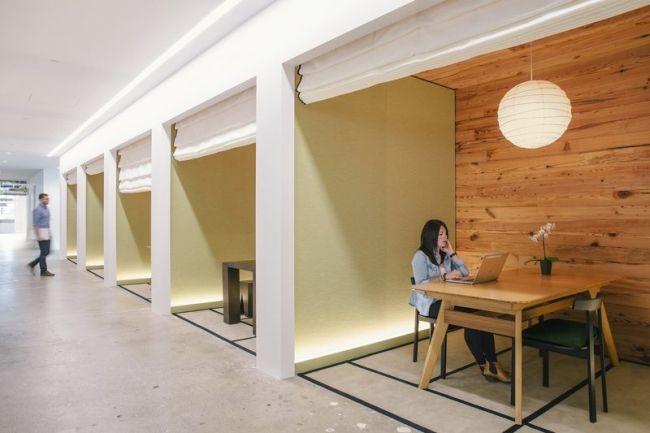 Zobacz nowoczesny projekt nowoczesnego biura firmy AirBnB w San Francisco - zapraszam na bloga Pani Dyrektor - nowy wpis czeka! Zainspiruj się niestandardowymi rozwiązaniami - wydzielone przestrzenie biurowe dostosowane zostały do potrzeb ich użytkowników!