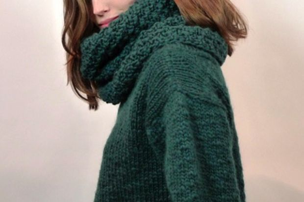 Free pattern on Canadian Living! Simple seed stitch in our gorgeous Bulky Alpaca Wool