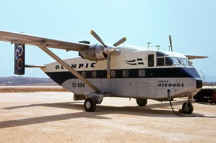 Olympic Aviation Shorts SX-7 skyvan [Isle of Mykonos]-[SX-BBN]