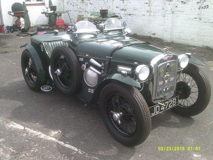 Superb Vintage 1934 Austin 7 Cambridge Sports, Miniature Le Mans Bentley. Unique