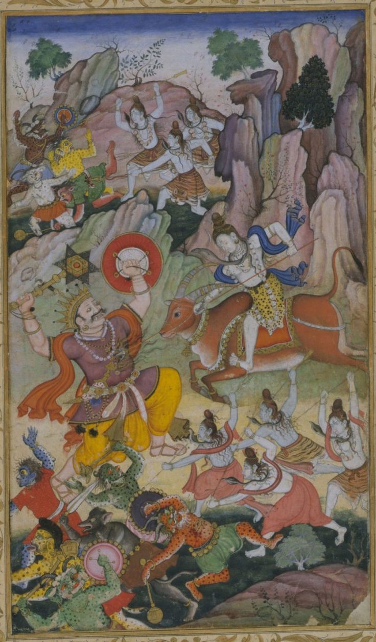 17 best images about n gods hindus lord shiva shiva kills the demon andhaka andhaka en