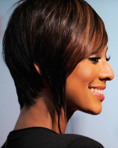 layered inverted bob hairstyle 0 45 90 180 degree