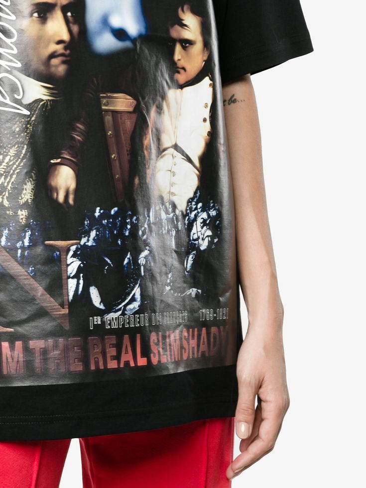 Y / Project The Real Slim Shady oversized t shirt