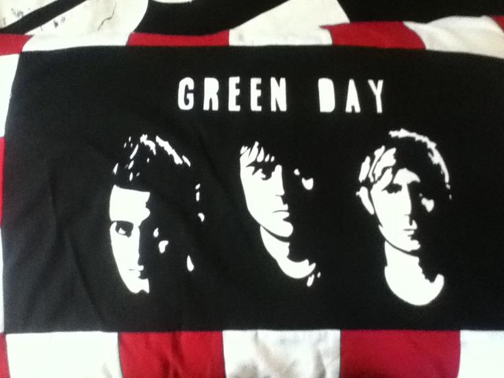 My textiles pillow case