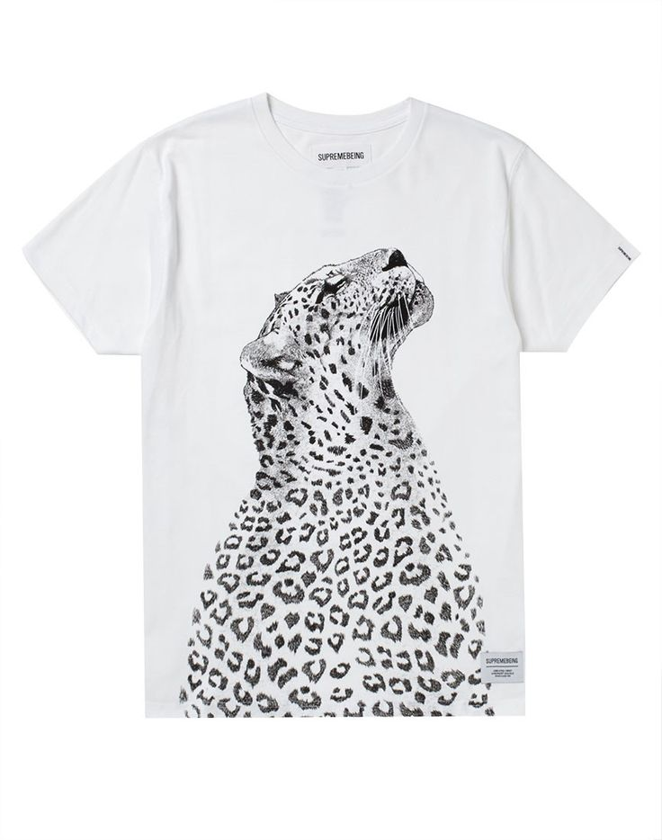 Supreme Being T Shirt with Liupaard Print