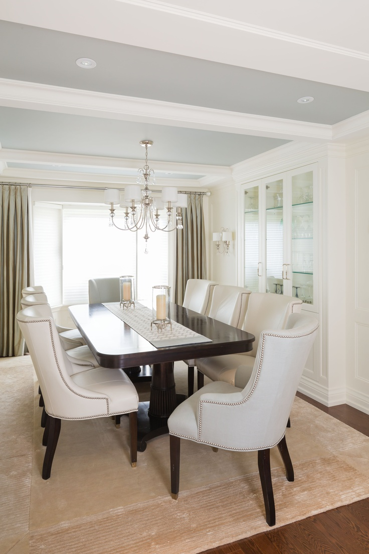 """A Transitional Style Great Room By Parkyn Design Www Parkyndesign Com: A Transitional Style Dining Room By """"Parkyn Design"""" Www.parkyndesign.com"""