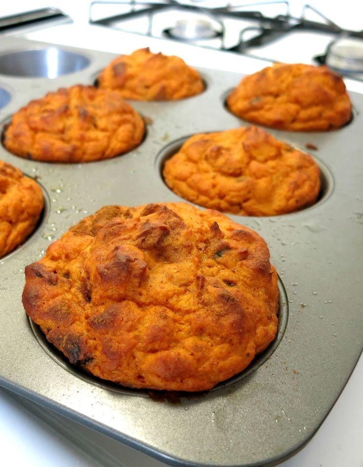 Pumpkin Protein Muffins- only 5 ingredients!