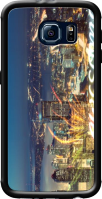 Awesome Seattle Panorama Night By stine1 for Galaxy S6, samsung case, galaxy s6, galaxy s6 case, smartphone case