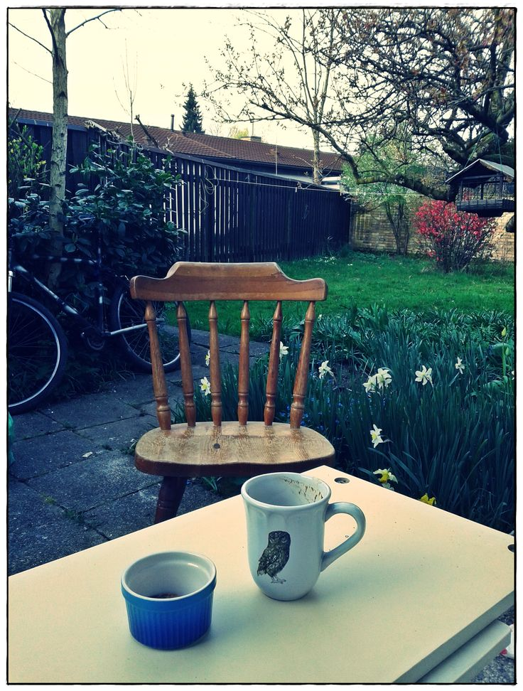 Peaceful morning coffee :)