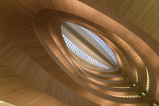 Library of University of Zurich (Calatrava) - Ralph Richter: Inspiration Architecture, Architecture Abstract, Knowledge Based, Libraries Architecture, Architecture Oth, Law Libraries, Architects Santiago, Santiago Calatrava, Zurich Law