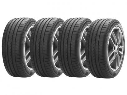 """Kit 4 Pneus Aro 17"""" Pirelli 225/45R17 - Cinturato P1 Plus com as melhores condições você encontra no Magazine Raimundogarcia. Confira!"""