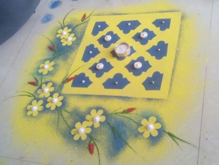 Creative Rangoli Designs and Patterns for Diwali