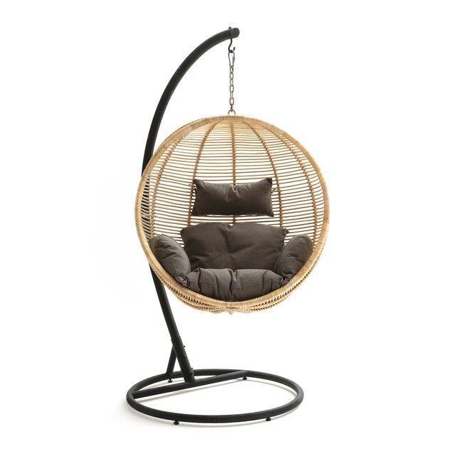 Rotan Hangstoel Zwart.Hangstoel Bosseda Vime Chaise