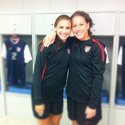 Lauren Cheney Posted This Image On Twitter From The Us Women S National Team Camp In