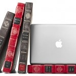 Disguise your MacBook or iPad as a vintage book: Macbook Case, Books, Macbookpro, Leather Cases, Laptops Cases, Twelv South, Bookbook, Products, Macbook Pro