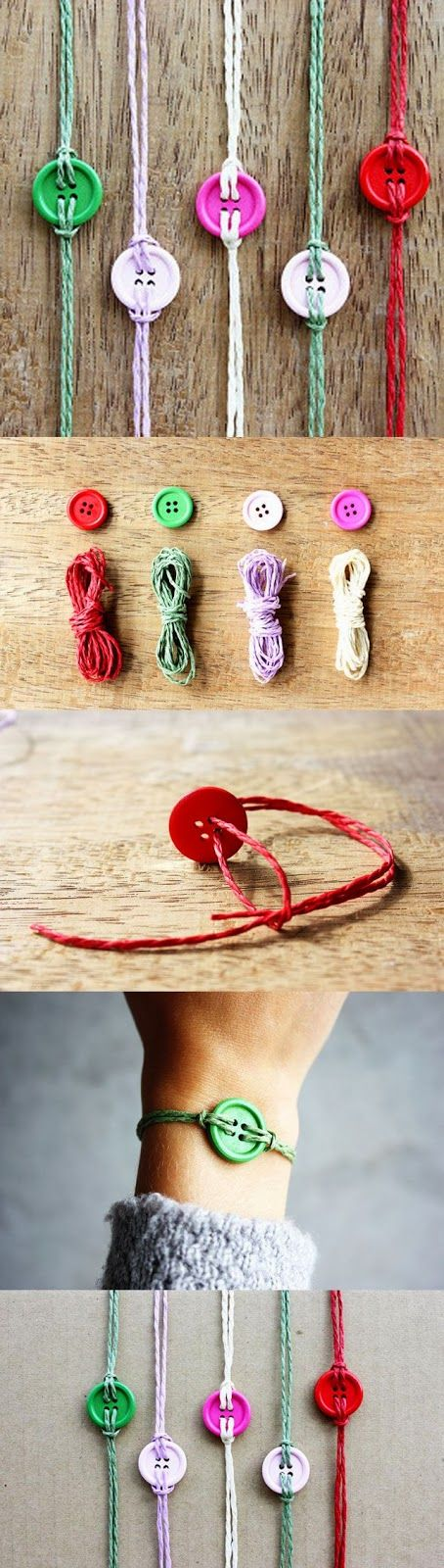 Easy DIY Crafts: Cute idea for guest gifts at a Cute As A Button baby shower!