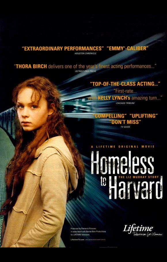 Homeless to Harvard: The Liz Murray Story 11x17 Movie Poster (2003)