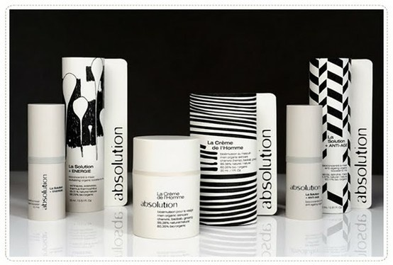 absolution skincare packaging patterns