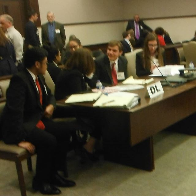 Evan Guthrie Law Firm Volunteered To Judge The South Carolina Bar High School Mock Trial State Competition At The Richland County Magistrate In Columbia Sc On F
