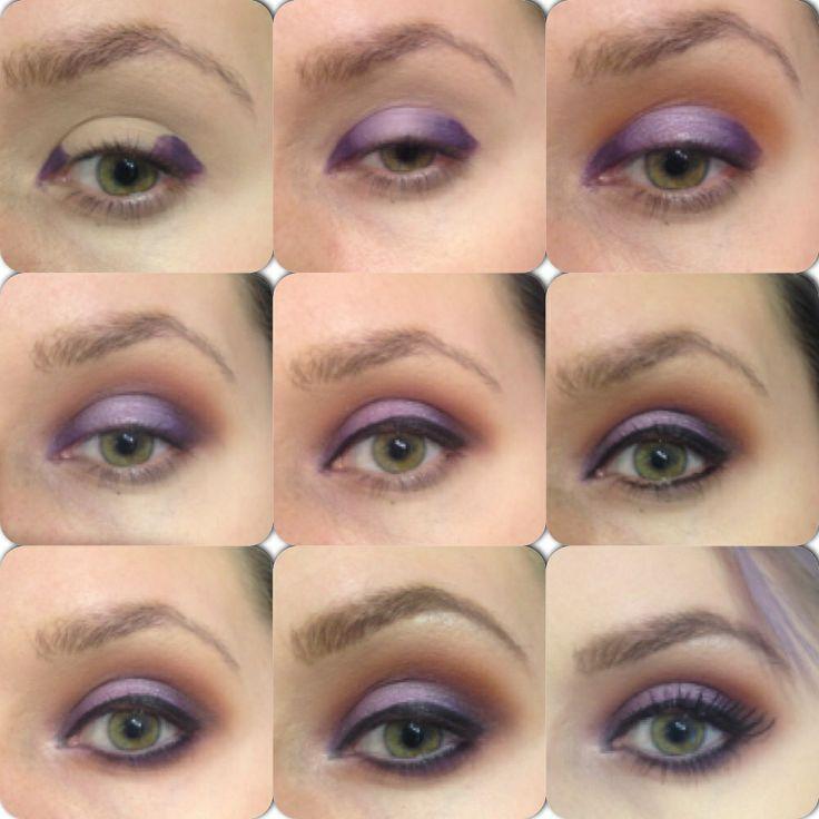 Elsa's makeup tutorial using Sleek makeup and Mac Cosmetics