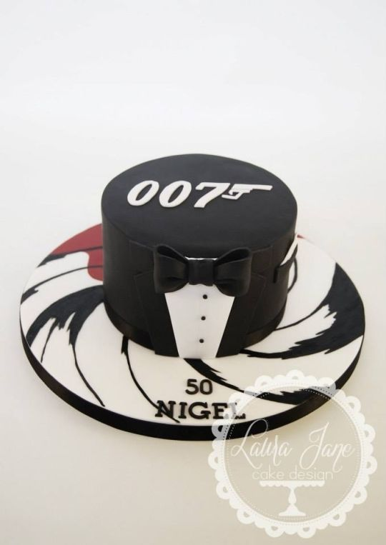 James Bond and casino themed novelty cake complete with name endorsed playing cards, poker chips, sugar dice, and modelled character of the man himself. Description from pinterest.com. I searched for this on bing.com/images