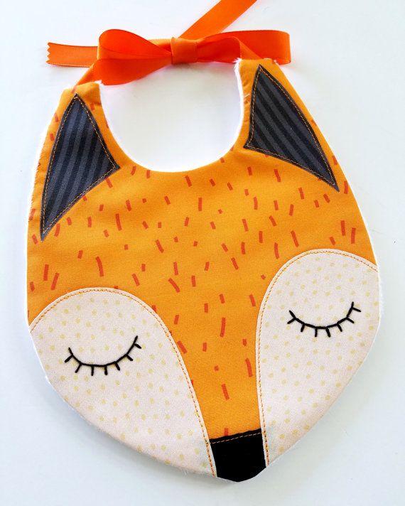 Fox – Raccoon Baby Bibs PDF E Sewing Pattern – Lynne