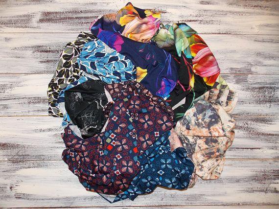 1100g 243 lb Scraps of fabrics