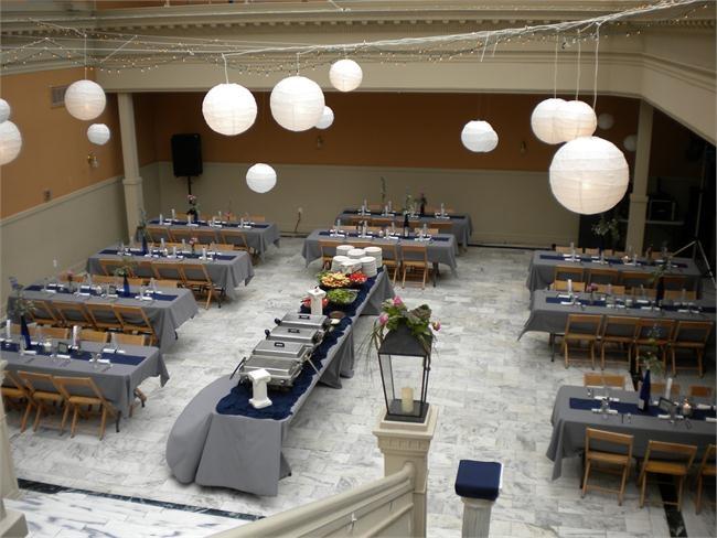 Sovereign Catering Lahr Atrium Lafayette Indiana Event Vintage Hotel 113 N