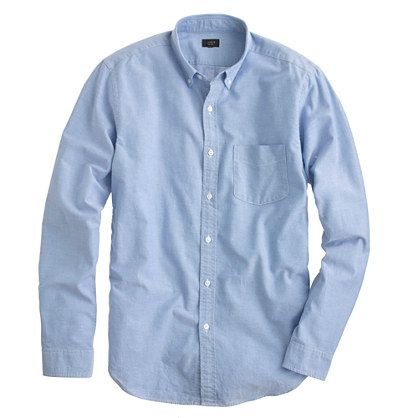 J.Crew Slim vintage solid oxford shirt.  Size: M Slim