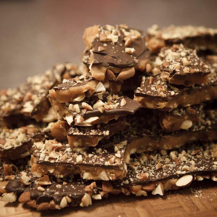 California Brittle aka Almond Toffee recipe   Food - Devilish Desserts ...