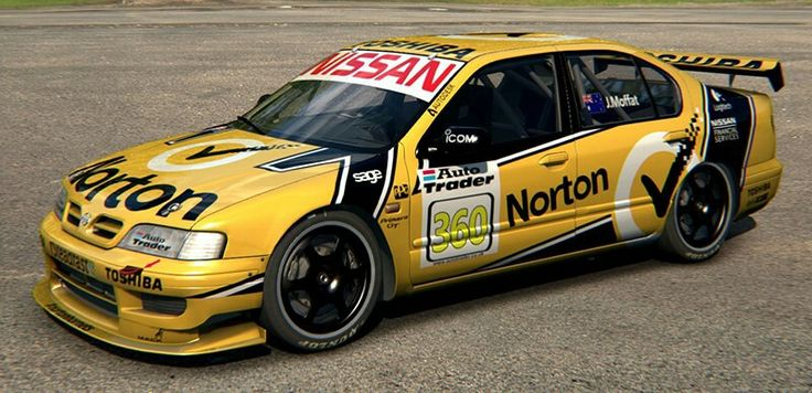 Nissan Primera BTCC James Moffat Norton 2014 Livery | RaceDepartment