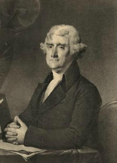 thomas jefferson and american history Thomas jefferson (april 13, [os april 2] 1743 – july 4, 1826) was an american founding father who was the principal author of the declaration of independence and later served as the third president of the united states from 1801 to 1809.