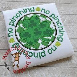 No Pinching Applique - 3 Sizes! | Featured Products | Machine Embroidery Designs | SWAKembroidery.com